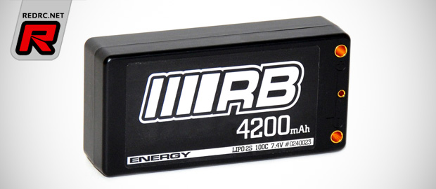 RB Energy 4200mAh shorty LiPo battery