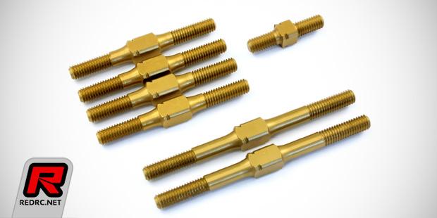 Radtec RC hard-anodised aluminium turnbuckles
