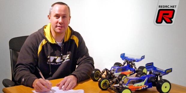 Ellis Stafford renews with Team Losi Racing