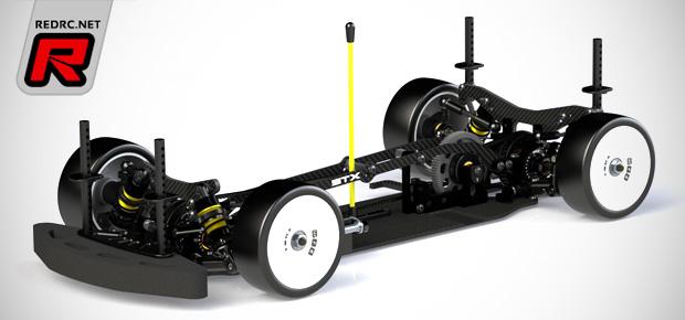 WRC STX Evo 2014 electric touring car kit