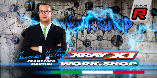 Xray X1 Work.Shop Italy – Announcement