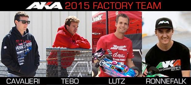 AKA confirm factory team for 2015