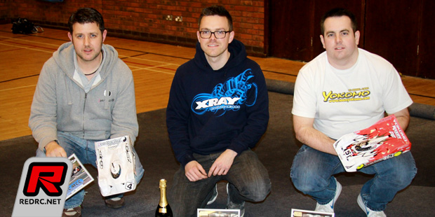 Olly Jefferies seals double BRCA 1/12th title