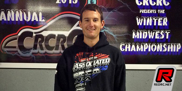 Ryan Cavalieri doubles at CRCRC Winter Champs