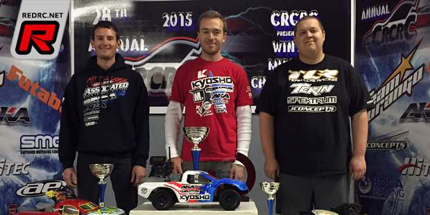 Tebo takes Truck classes at CRCRC Winter Champs