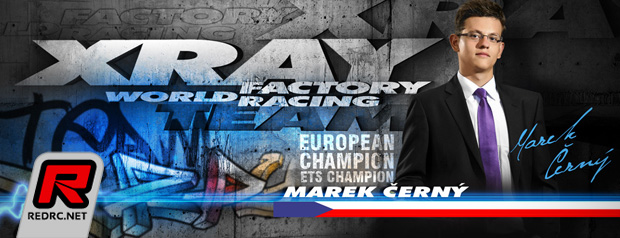 Marek Cerny re-signs with Xray