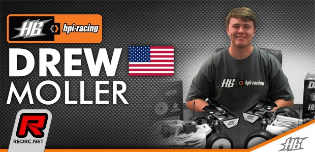 Drew Moller signs for HB/HPI Racing