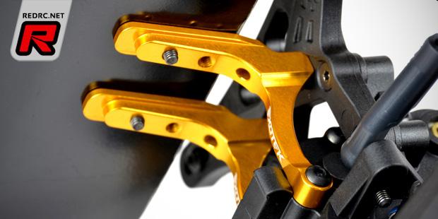 Exotek DEX210 alloy 12mm hex set & MM wing mounts