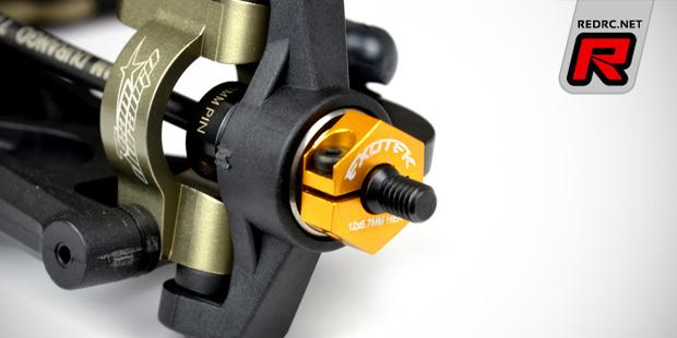 Exotek DEX210 alloy 12mm hex set & MM wing mount