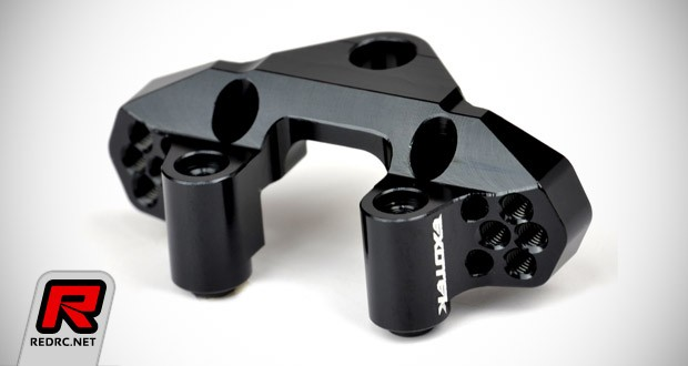 Exotek TLR 22-4 rear camber block & front tower