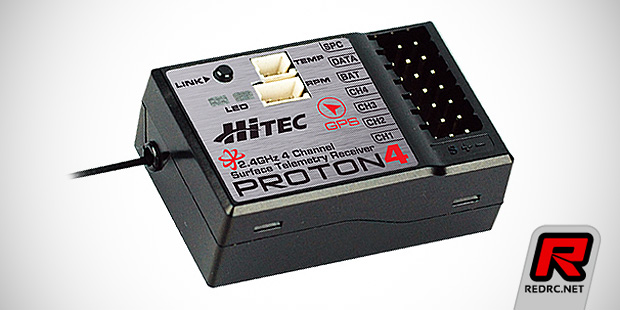 Hitec Proton & Axion 2.4GHz receivers