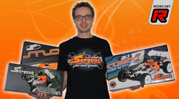 Hupo Honigl joins Serpent Factory team