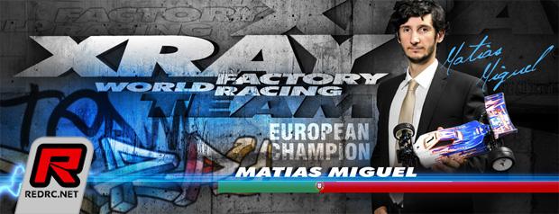 Miguel Matias continues with Xray