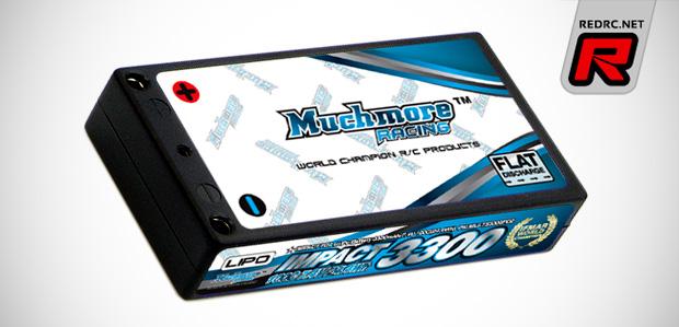Muchmore Impact FD2 7.4V 3300mAh 1/12th LiPo pack