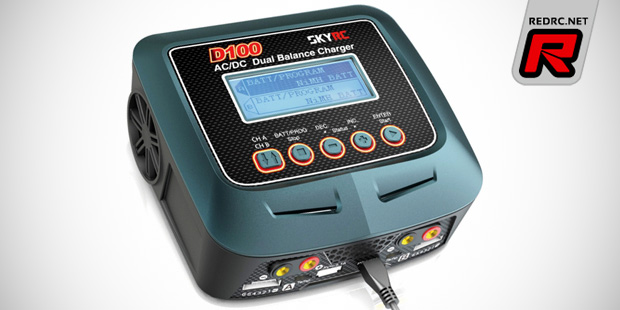 SkyRC D100 AC/DC multi-chemistry charger