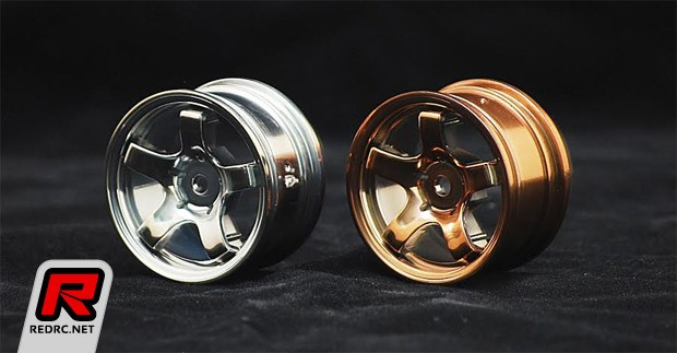 Sweep silver & bronze F1 & mini wheels