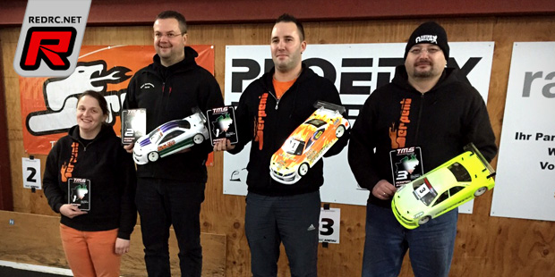 Marc Fischer wins at Touring Master Series Rd2