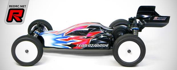 Team Azarashi B5M prototype bodyshell