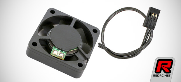 Team Titan H.V. 40mm cooling fan with tabs