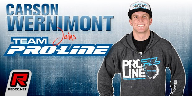 Carson Wernimont makes the switch to Pro-Line