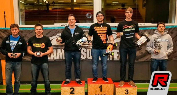 Patrick Hofer takes 4wd buggy at Winterchamps