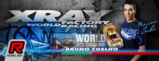 Bruno Coelho renews with Xray