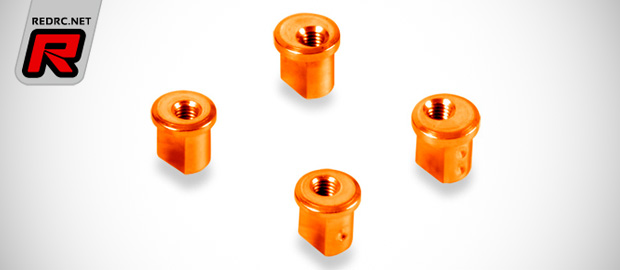 Xray X12 orange eccentric aluminium bushings
