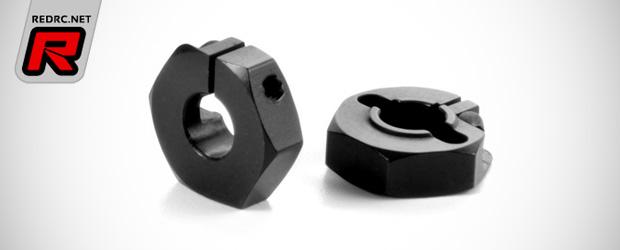 Xray XB4 12mm aluminium offset wheel hubs