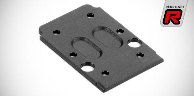 Xray XB4 composite rear chassis plate