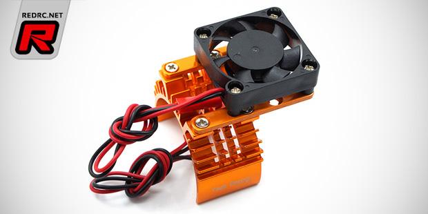 Yeah Racing single & dual fan motor heatsink sets