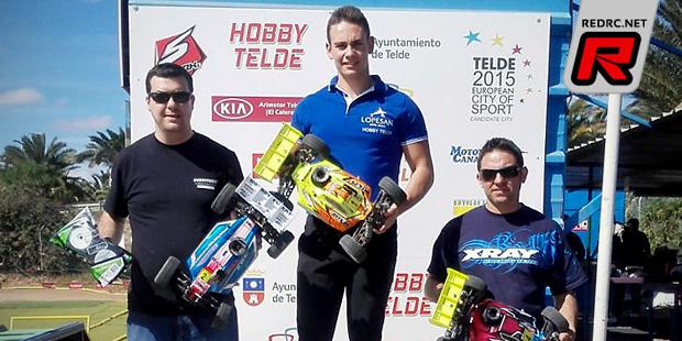 Cristian Artiles Cruz wins Canary Island Champs Rd2