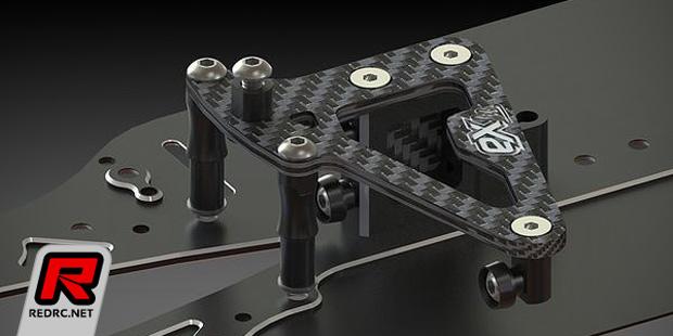 EX Lab BD7 floating steering & servo mount
