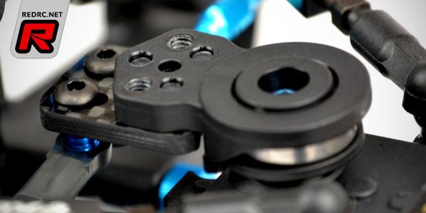 Exotek machined IFS rods & Xray servo saver plate