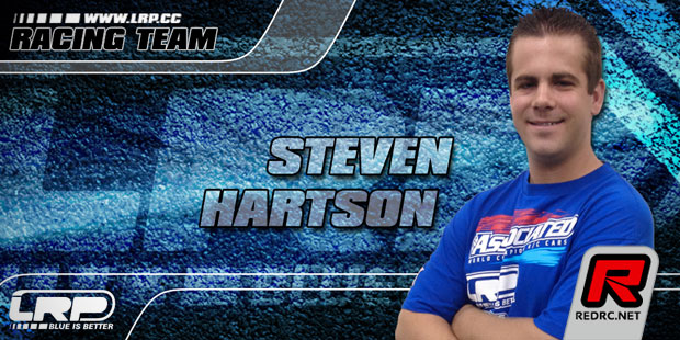 Steven Hartson continues with LRP