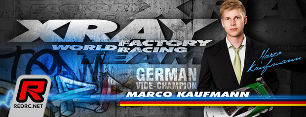 Marco Kaufmann continues with Xray