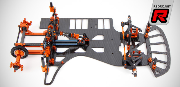 McPappy Racing McDominator 2.1 oval chassis kit