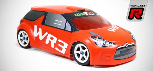 Mon-Tech Racing WR3 1/10th rally bodyshell