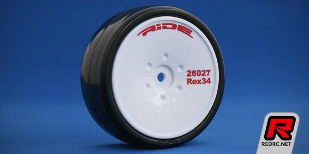 Ride Rex34 Ver2 pre-glued touring car wheels