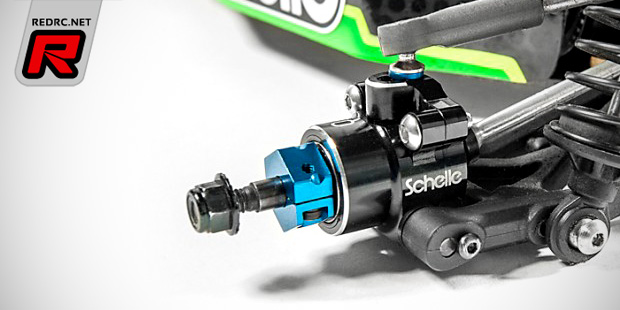 Schelle Racing Innovations B5 aluminium rear hubs