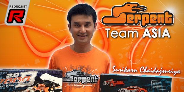 Surikan C. joins Serpent nitro team