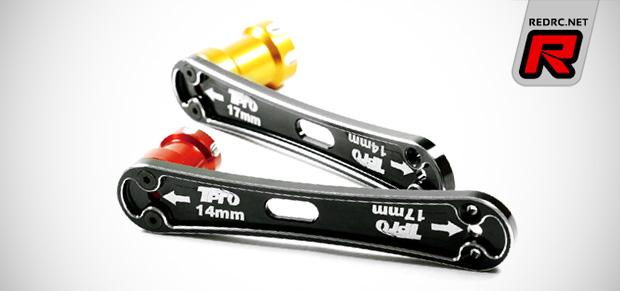 T-Pro aluminium wheel nut wrenches