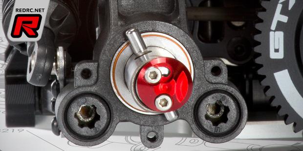WRC 1/8th on-road quick release wheel mounts
