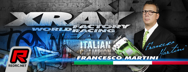 Francesco Martini re-signs with Xray