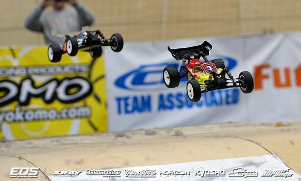 Neumann survives last lap error to win A1