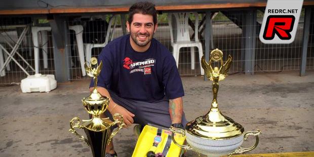 Flavio Elias wins Brazilian 1/8th Championship