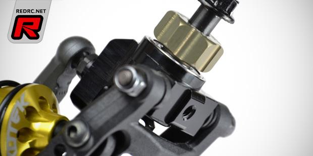 Exotek TLR 22-4 aluminium & carbon fibre options
