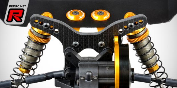 Exotek DEX210v2 carbon rear shock tower