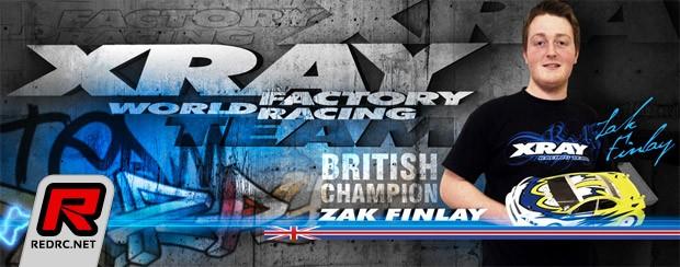 Zak Finlay rejoins Team Xray