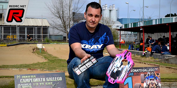 Cristian Villar wins at Galician regional champs Rd1