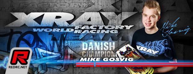 Mike Gosvig renews with Xray